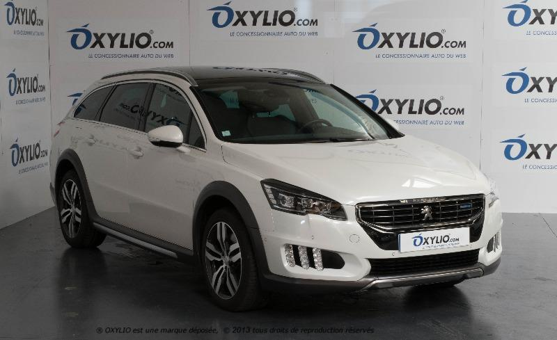 voiture peugeot 508 rxh 2 2 0 bluehdi s s eat6 180 occasion diesel 2015 19961 km 27970. Black Bedroom Furniture Sets. Home Design Ideas