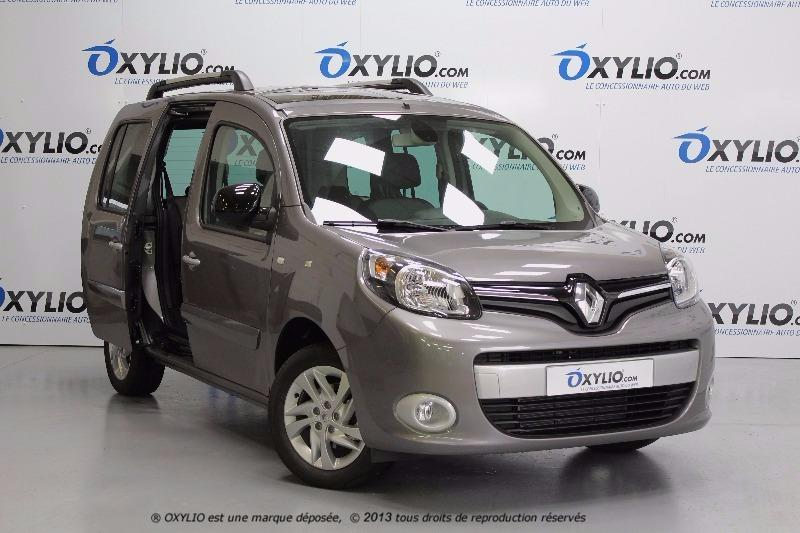 voiture renault kangoo ii 1 5 dci 90 limited pack intens occasion diesel 2017 10 km. Black Bedroom Furniture Sets. Home Design Ideas